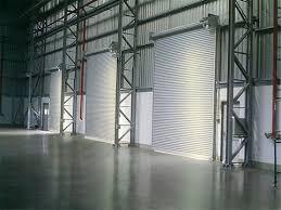 Porta de aço industrial