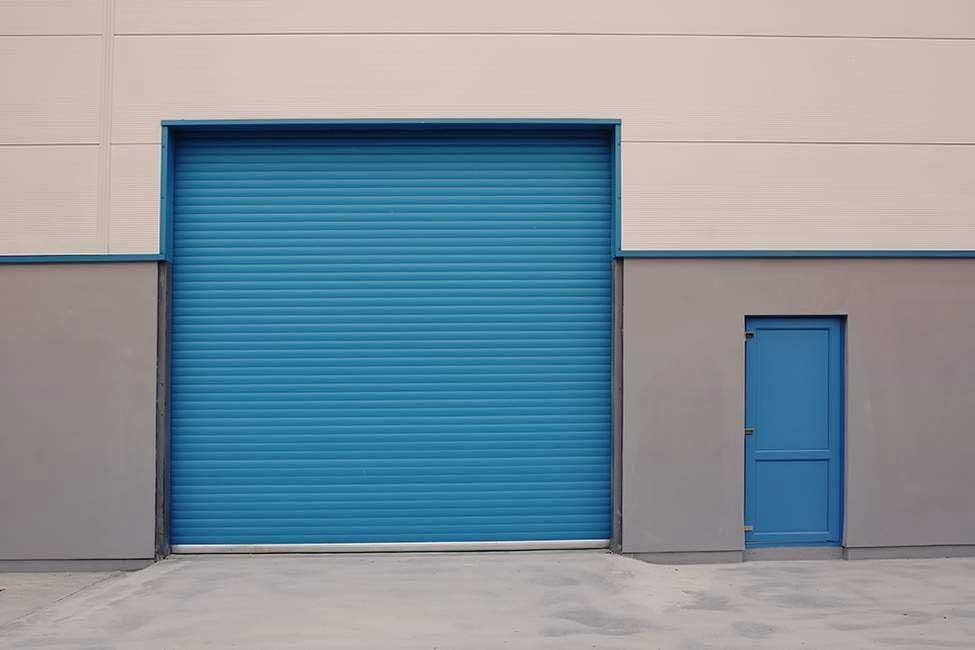 Porta automática para indústria