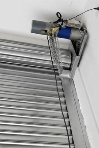 Portas automáticas de enrolar de aço